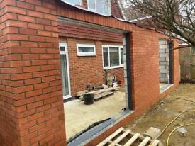 Bricklayer brickwork and Masonry