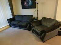 DFS sofa and arm chair for sale. Great condition no rips marks.