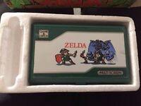 Zelda pocketsize nintendo watch and play 1989