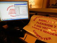 SIGNSHOP COMPUTER SIGNLAB FLEXISIGN