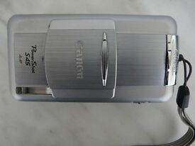 Digital Camera Canon PowerShot S45 4.0MP- Metallic silver