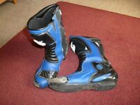 Swift -Torsion X Motorcycle Race Boots Size 9 Good Condition - Shipley