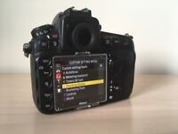Nikon D810 Body and Grip in great condition