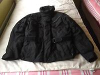 2 textile motorcycle jackets plus 1 pair of trousers