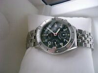 Eterna Airforce III auto chrono wristwatch - NOS - Circa 1991 - Historic Collection - Swiss Made
