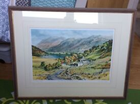 Picture - Judy Boyes - limited edition of Over the pass to Brothers Water