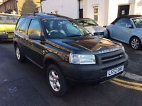 LAND ROVER FREELANDER TD4 DIESEL AUTOMATIC 2003 1 OWNER FULL HISTORY CLEAN HEATED LEATHERS