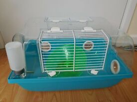 6 months old cage for a Russian or Chinese hamster