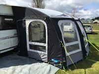 Kampa Rally Ace Air 400 Inflatable Caravan Awning Complete with Air Bedroom Annexe