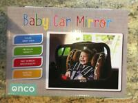 Once baby car mirror