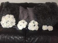 Bridal flowers set artificial