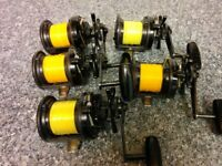 Shimano Triton Speedmaster TMS II CFS Sea Fishing Multiplier Distance Surf Beach Casting Reel's x5