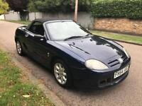 MG TF 2005 CONVERTIBLE 1.6 5 SPEED BLUE 65k LONG MOT 07960098505