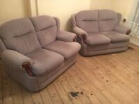Sofas, both in vgc, could deliver