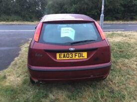 Automatic 1.6 Ford focus