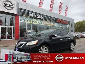 2015 Nissan Sentra 1.8 SL-Leather, Navi,Sunroof