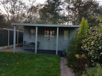 Large summer house/garden shed
