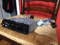Pioneer radio with mounts - fully working - car stereo sold as seen