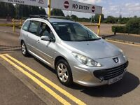 2006 Plate PEUGEOT 307 S 1.6 HDI New Mot, 2 keepers from new.