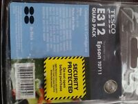 New Printer cartridges - Epson T0711 equivalent in a pack of 4