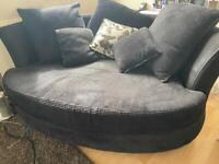2/3 seater cuddle chair and 4 seater sofa