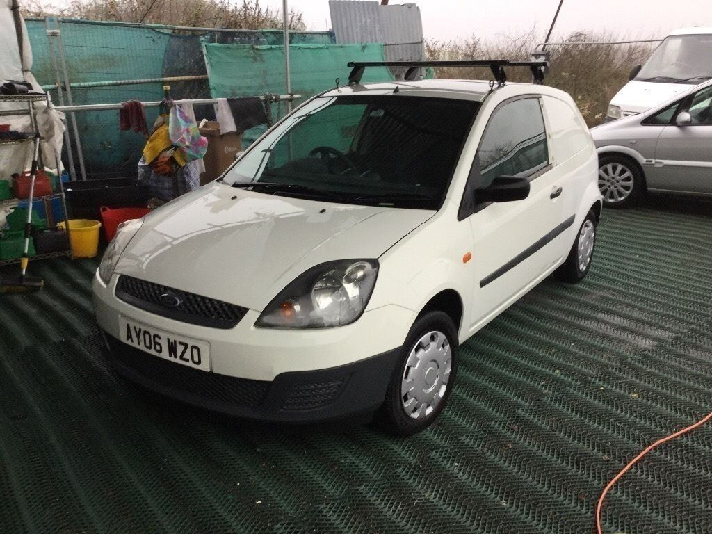 2006 ford fiesta diesel van low mileage 1 yearsmot lovely. Black Bedroom Furniture Sets. Home Design Ideas