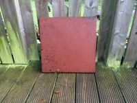 PATIO TILES; 45cm square. 48 available