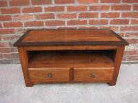 Beautiful dark wood TV stand/unit
