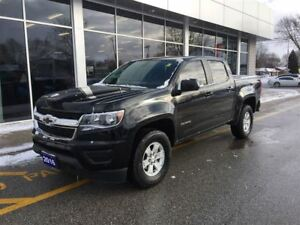 2016 Chevrolet Colorado Crew Cab, Spray In Bedliner, Rear Camera