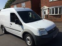 Ford transit connect van 2007 57 1.8 tdci lwb high roof drives like new 4 months mot plylined no vat