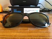 RayBan Andy Black - Perfect Condition