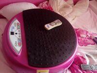 Pink vibrapower power plate