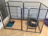 Dog/puppy playpen, barely used! Collection only £50