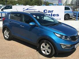 KIA SPORTAGE 2.0 KX-2 5d AUTO 160 BHP A GREAT EXAMPLE INSIDE AND OUT (blue) 2011