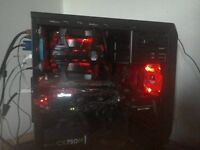 Full gaming computer setup