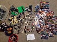 Huge LEGO STAR WARS JOBLOT MINIFIGURES SETS AND AT AT