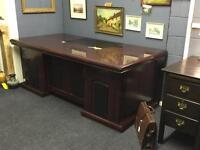 Large Directors / Executive Desk Antique Style Rrp £749
