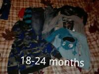 Baby boy clothes bundle 18-24 months