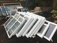 Job lot of pvc windows and doors