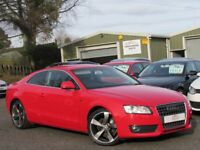 """2009 AUDI A5 2.0 TDI SPORT COUPE 170BHP 2 OWNERS 19"""" ALLOYS FULL SERVICE HISTORY 1 YR MOT IMMACULATE"""