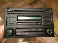 Standard VW stereo from 2007 T5. Code included