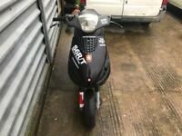 2001 Piaggio Zip 50cc Moped 2 Stroke 9 Months MOT 2T Scooter