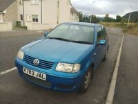 Urgent: Volkswagen Polo 2000 - reliable and fuel efficient, selling only to continue travelling