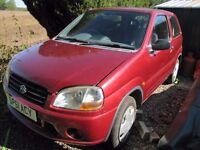 Suzuki Ignis 1.3 16v dohc 2001 reg