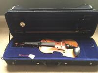 Full size violin - Antoni Symphonique solid mapel in case with bow