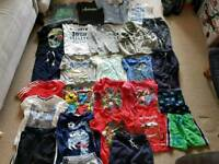 Huge bundle of Boys clothes 3-6 mainly 4-6