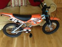 Nearly new motobike