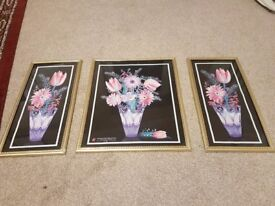 Set of 3 pictures for sale