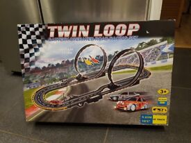 Twin Loop Battery Operated Road Racing Set - Kids/Child Toy