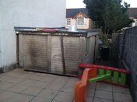Panelled Garage For Sale